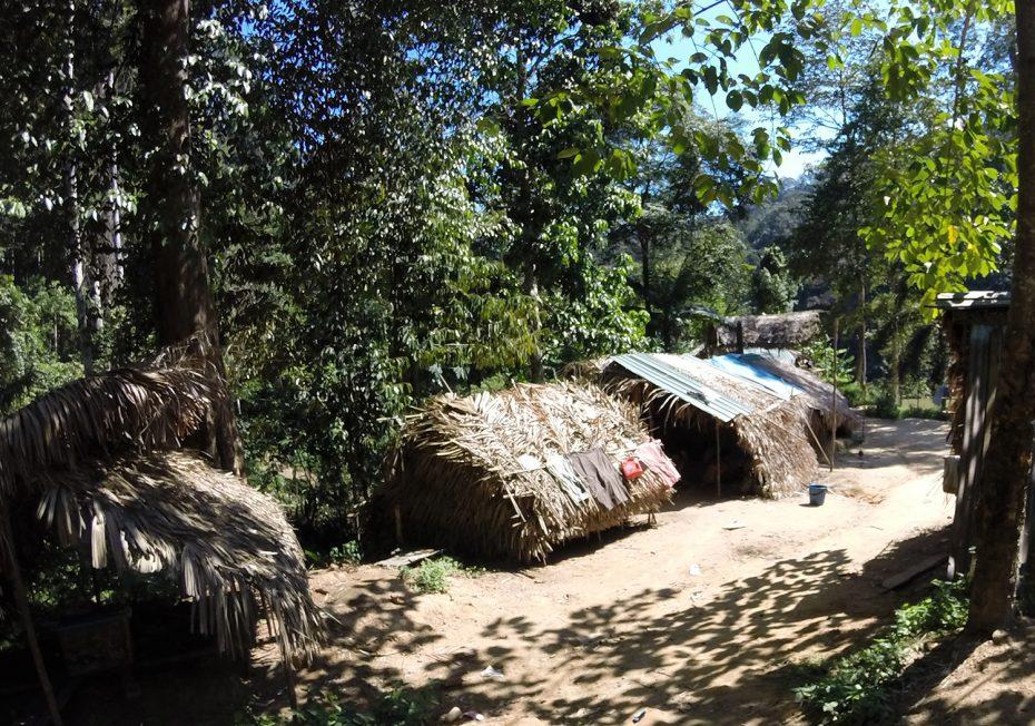 Het dorpje verkennen en kennis maken met de bevolking!