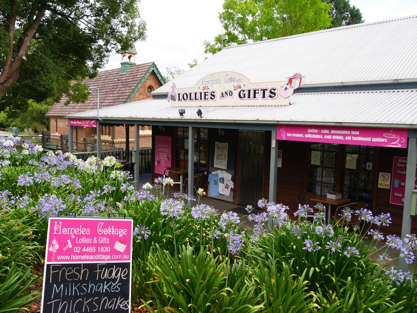 Gift shop in Kangaroo Valley