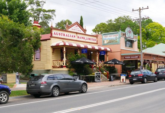 Restaurantje in Kangaroo Valley