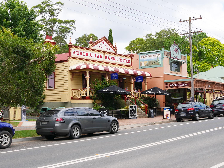 Restaurantje in Kangaroo Valley