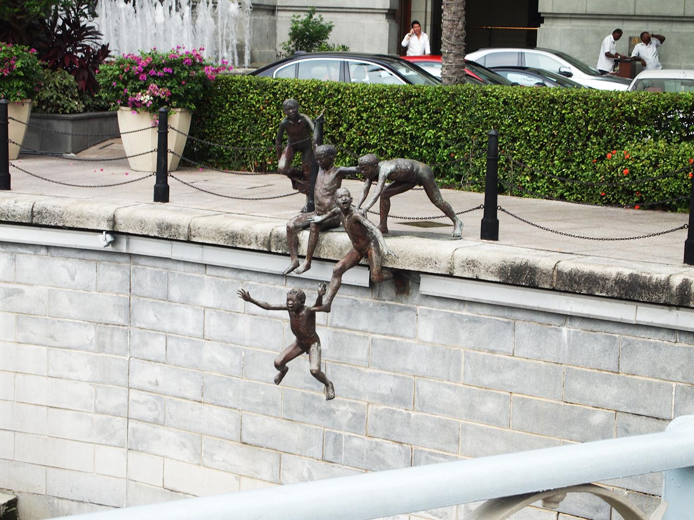 Kunst in het centrum van Singapore!