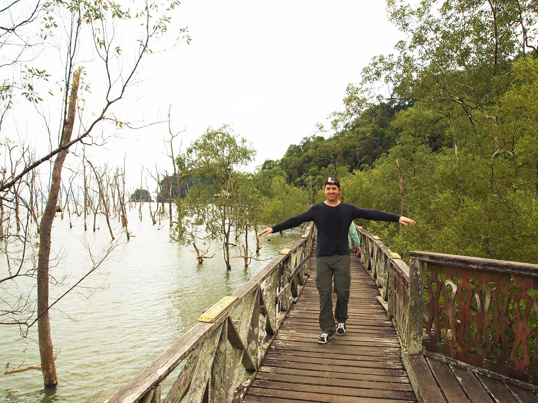 Prachtige wandeling in het Bako National Park