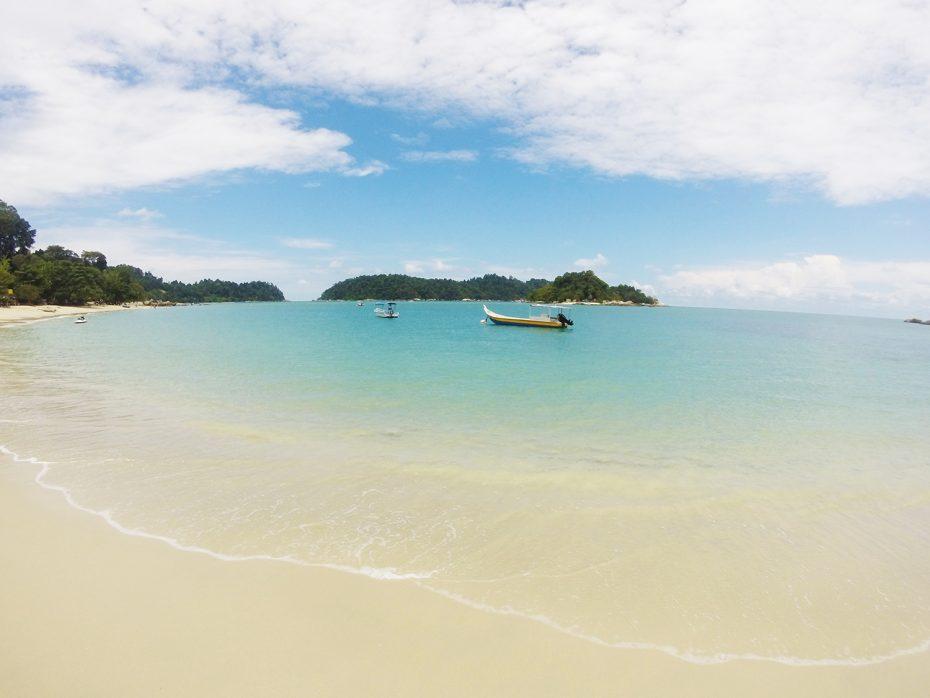Prachtige stranden op Pangkor!