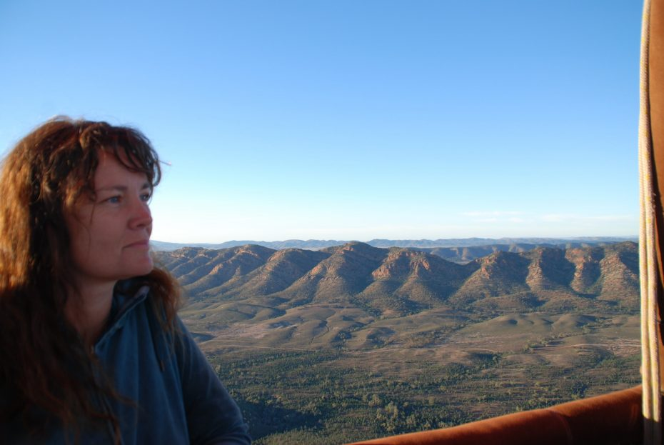 Ballonvaart Wilpena Pound Flinders Ranges