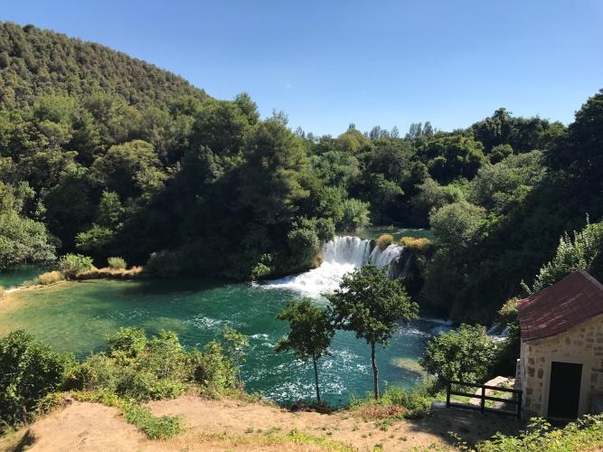 Krka meren in Kroatië!