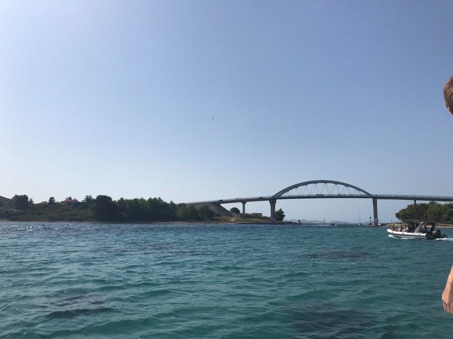 Varen op de Adriatische zee