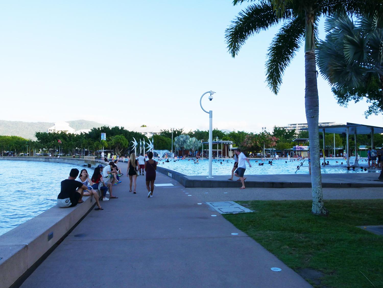 De lagoon van Cairns