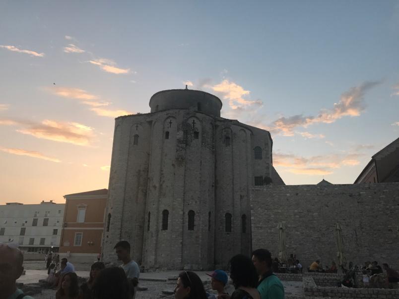 Zadar in Kroatië