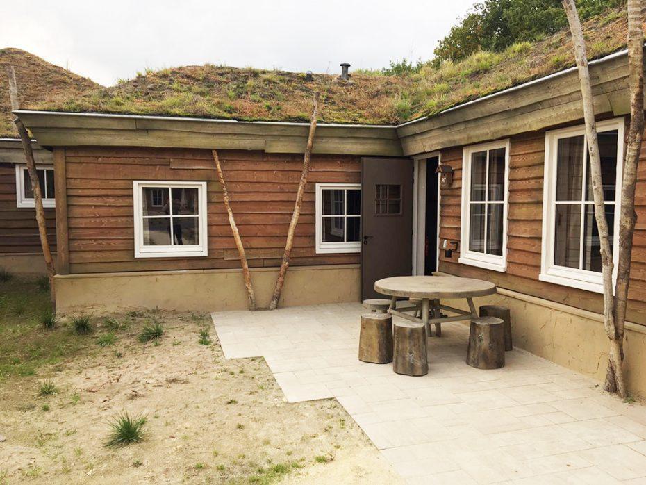 Onze 6-persoons hut