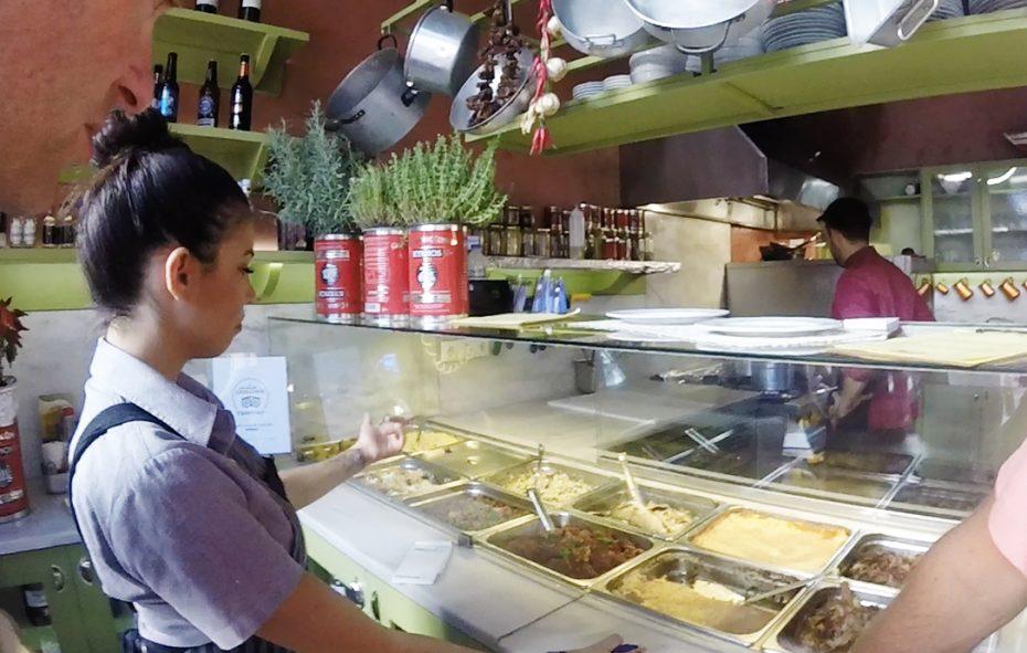 Eten uitkiezen tijdens de foodsafari