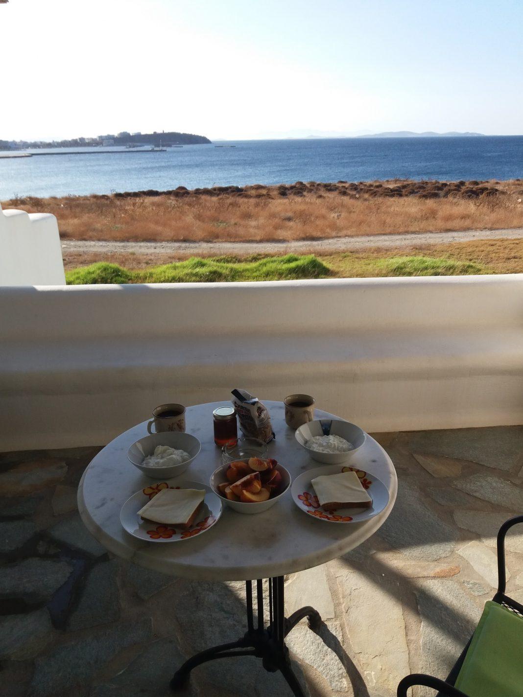 Ontbijtje - Parathyro sto Aigaio 2 - Small Suites