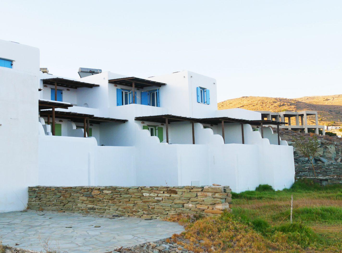 Buitenkant - Parathyro sto Aigaio 2 - Small Suites