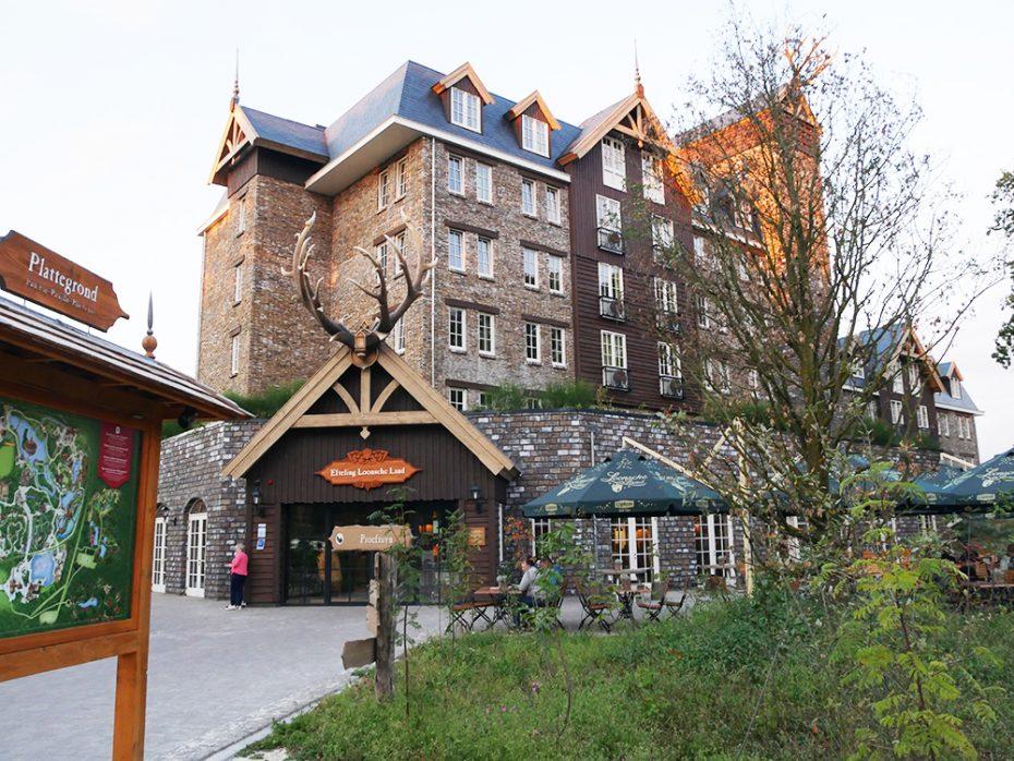 Hotel en receptie van Efteling Loonsche Land
