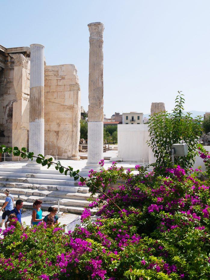 Veel van de geschiedenis te zien in Athene