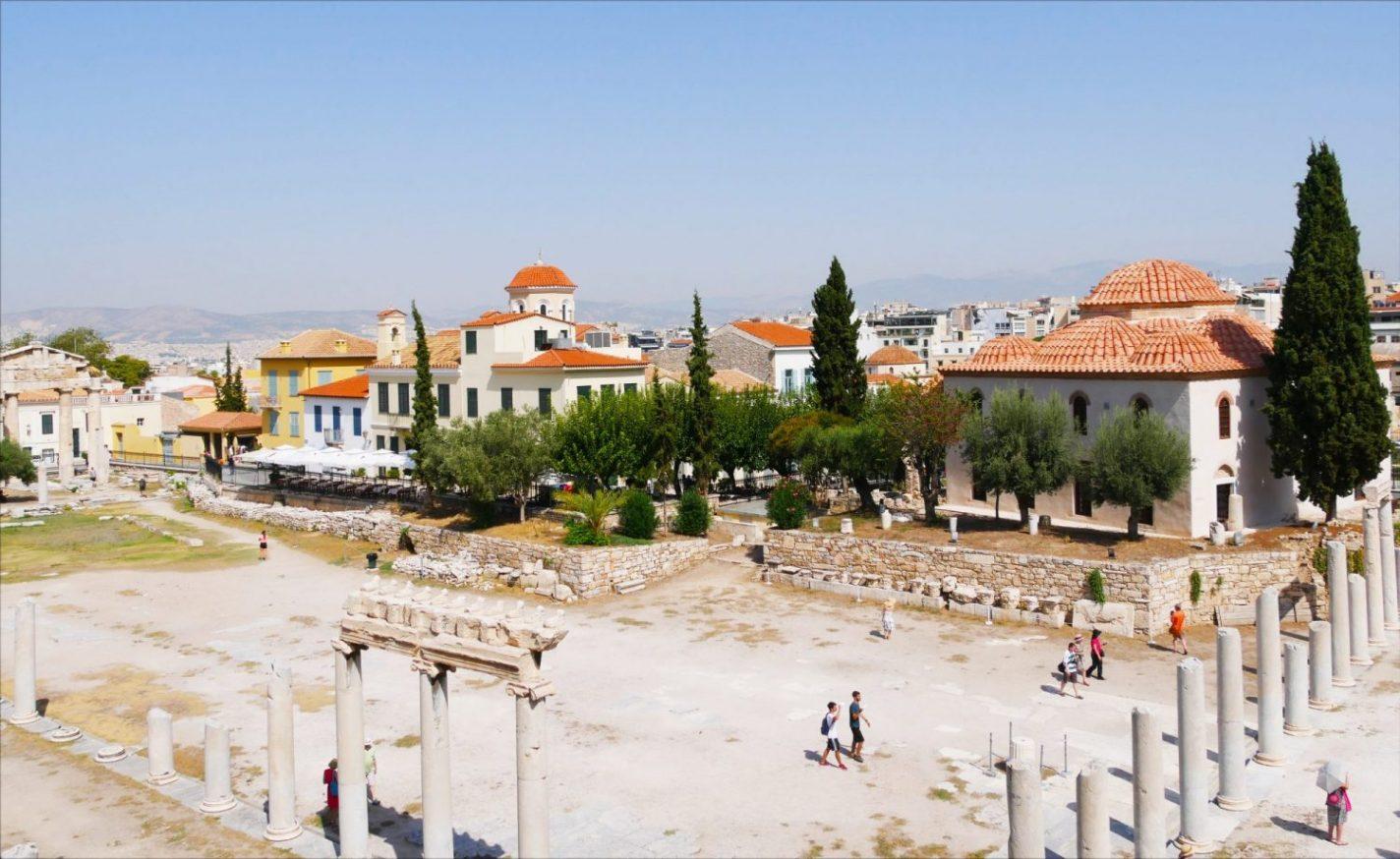 Het mooie (historische) Athene