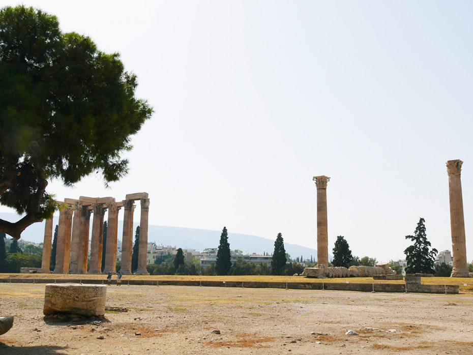 Tempel van Zeus - Athene!