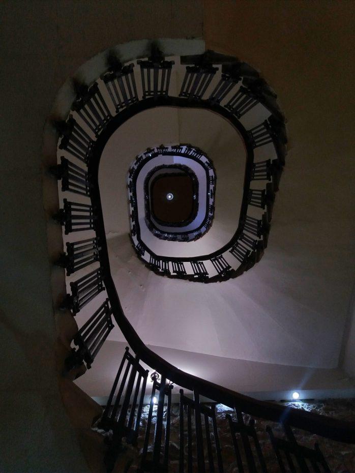 Mooi trappenhuis Hotel Neos Olympos