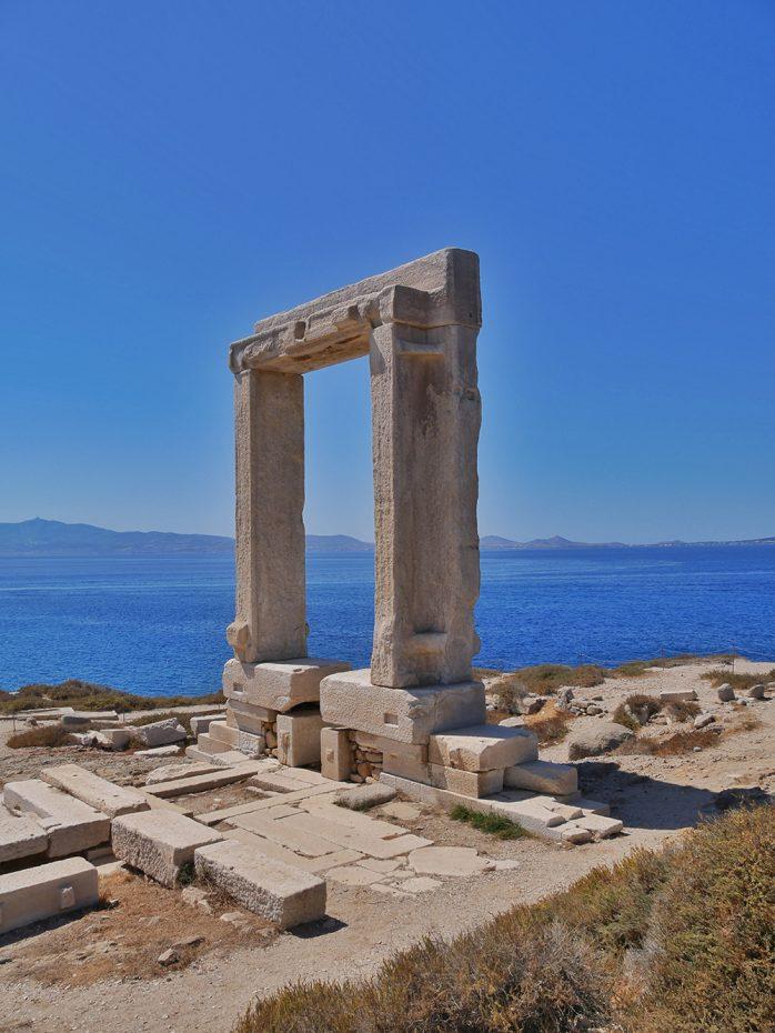 De 2500 jaar oude tempelpoort