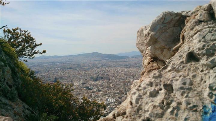 Lykavittós, Athene