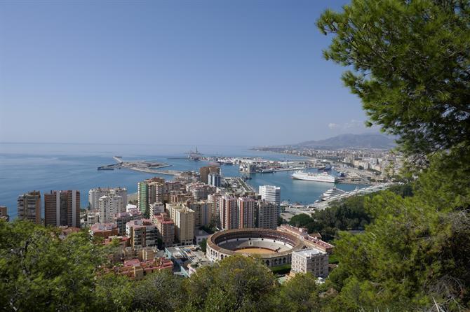 Málaga in Spanje