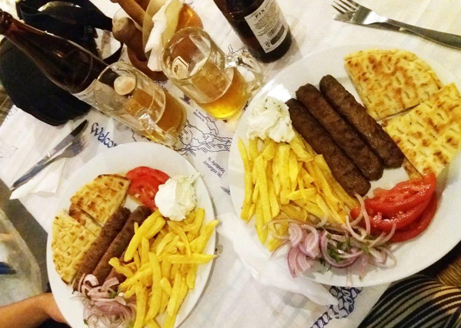 Grieken houden van goed en veel eten!