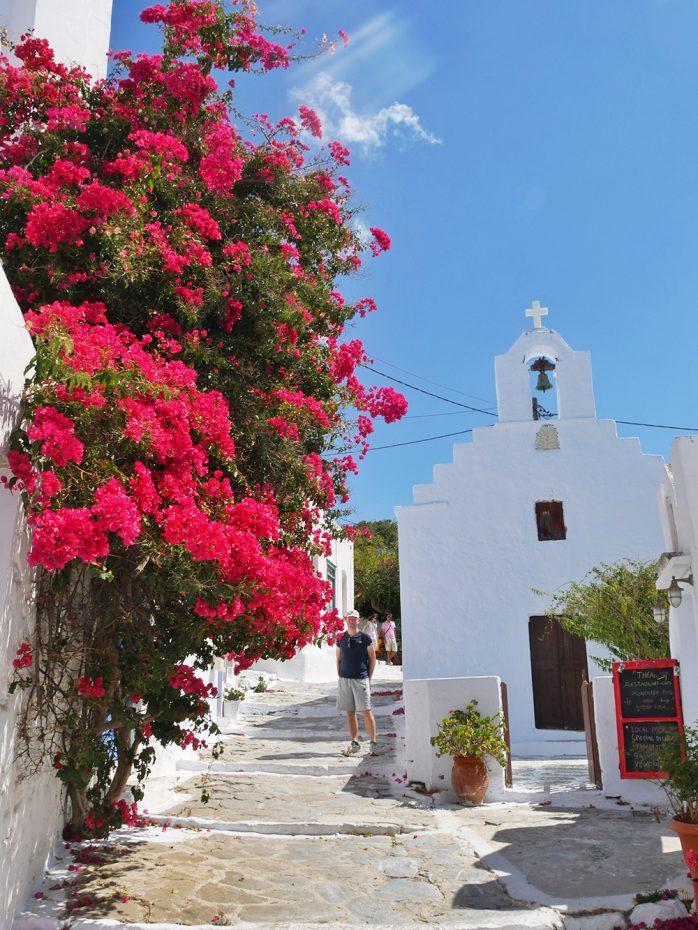 Chora, authentieke Griekse straatjes