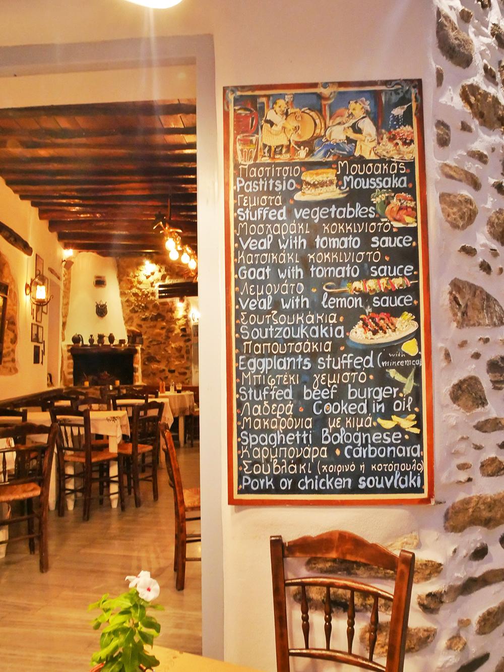 Culinair genieten op Naxos