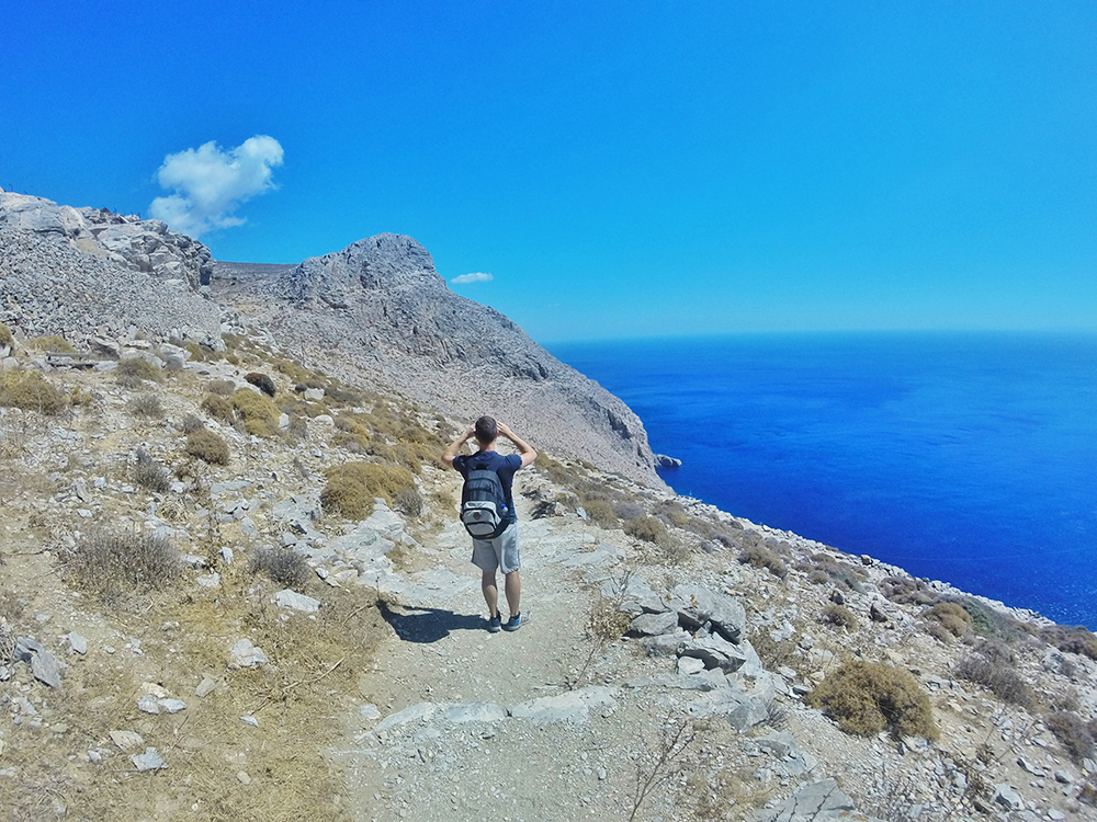 Hiking tocht op Amorgos