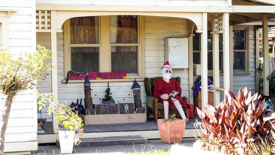 Humor tijdens de kerst in Australië