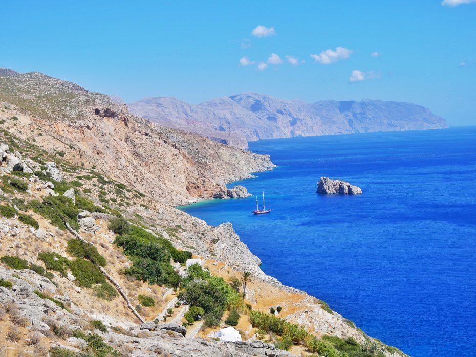 Reisblog over het Griekse eiland Amorgos