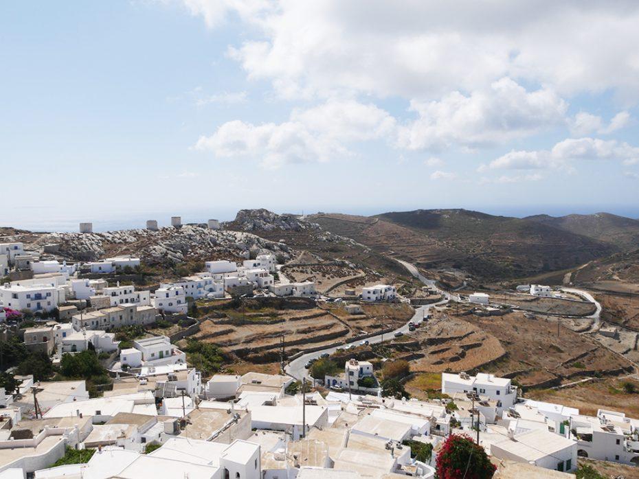 Prachtig uitzicht vanuit Chora