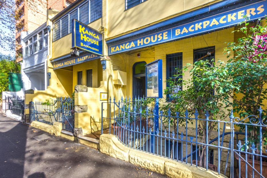Kanga House Backpackers hostel in Sydney