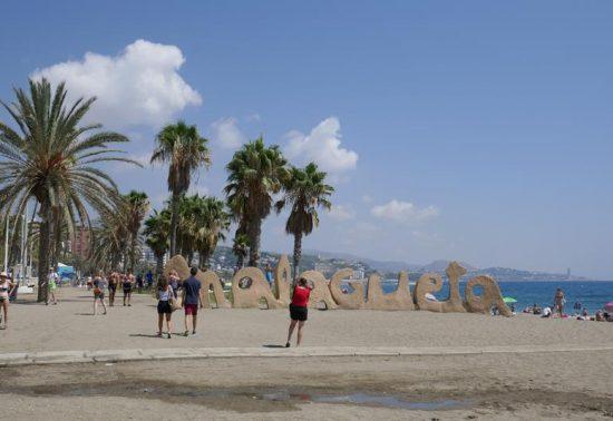 Bezoek het strand Malagueta
