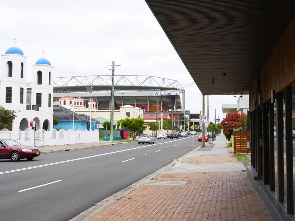 Centrum Wollongong (zijstraat)