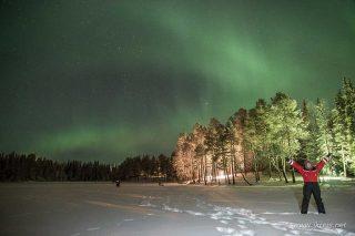 Het Noorderlicht in Finland