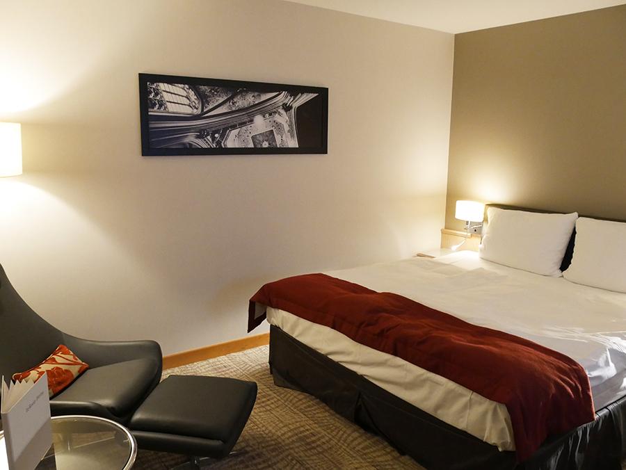 Hotel Mövenpick: onze hotelkamer