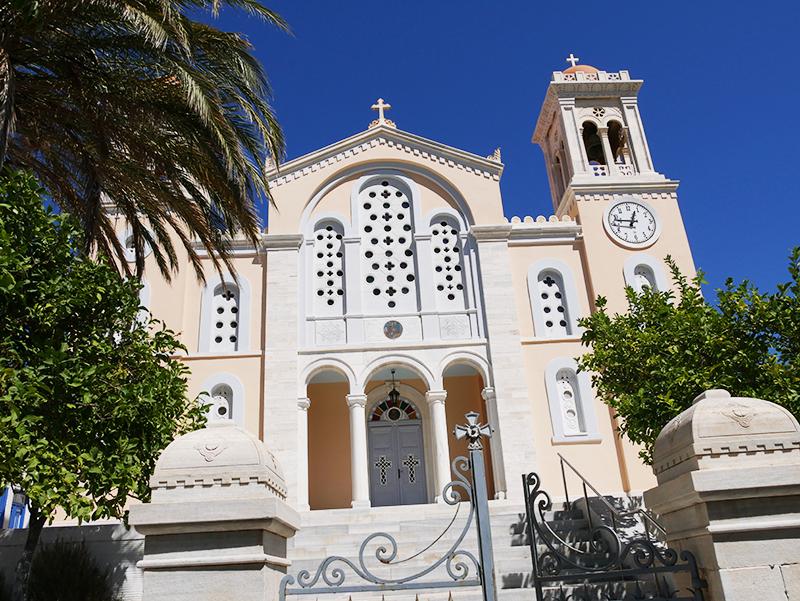 Prachtige kerk op Tinos