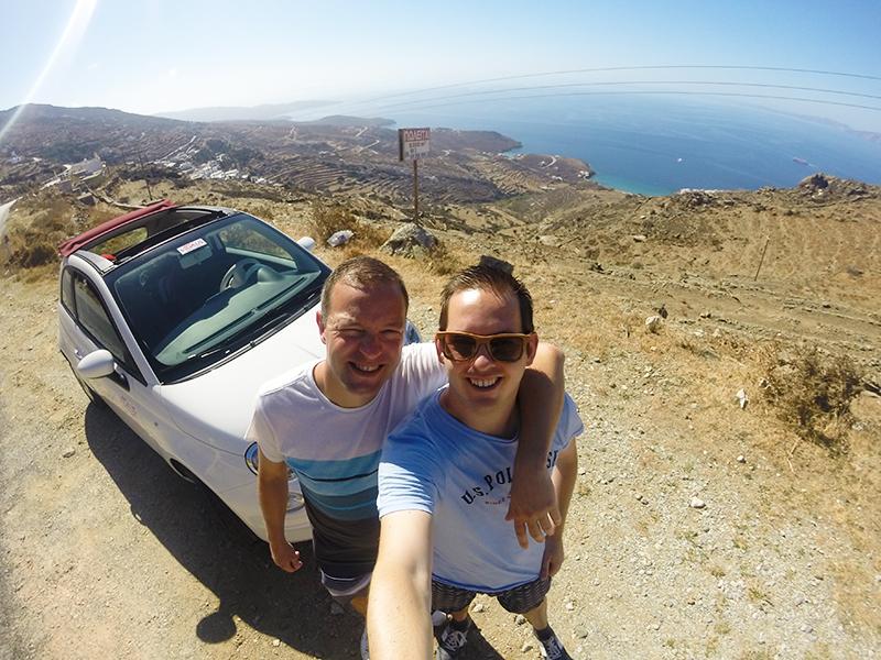 Prachtige vergezichten tijdens onze roadtrip op Tinos