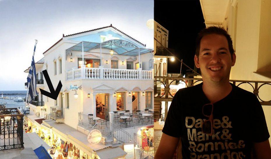 Restaurant Symposion, Tinos - Daar zaten wij