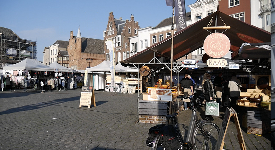 Weekendje Den Bosch - Zaterdagmarkt
