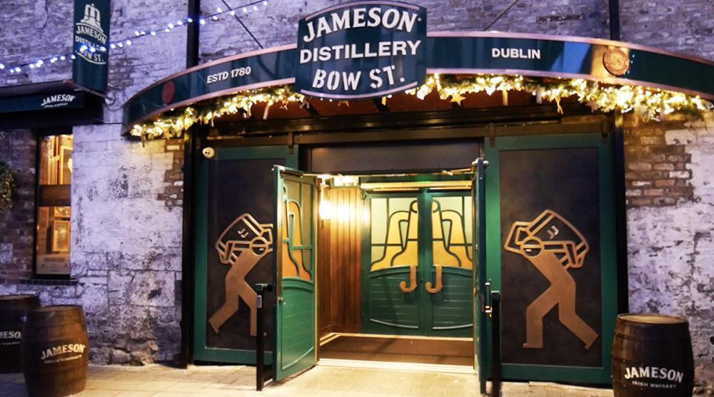 Kerst in Dublin: Jameson Distillery Tour