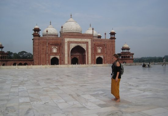 Stephanie in India