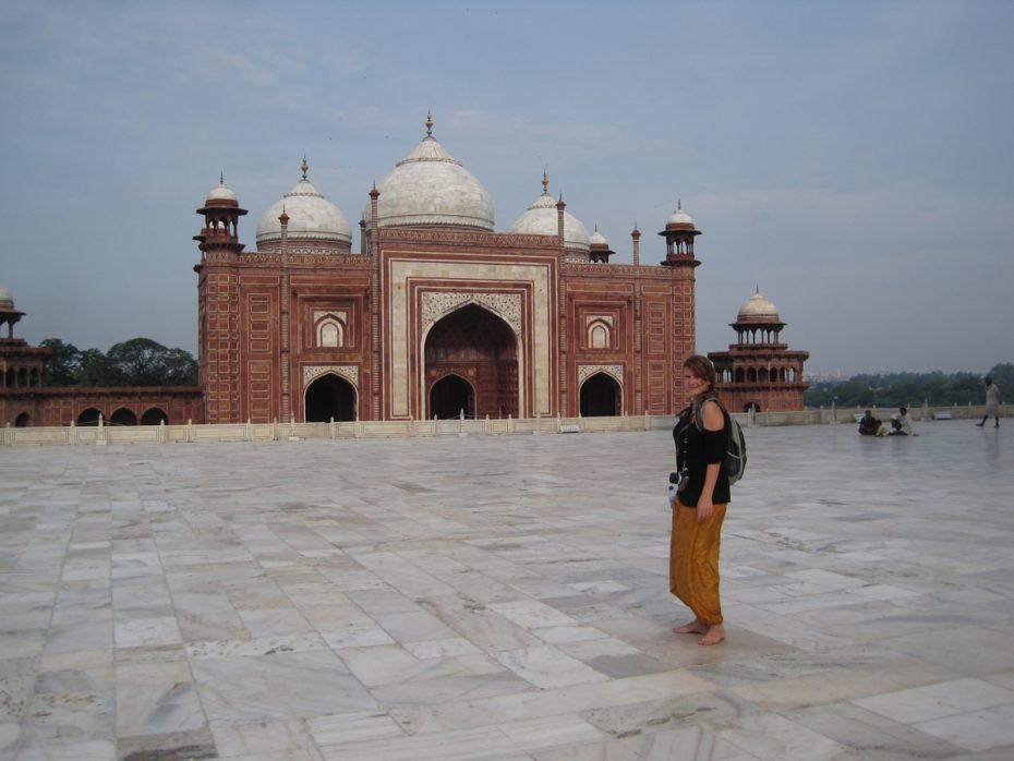 Stephanie in India