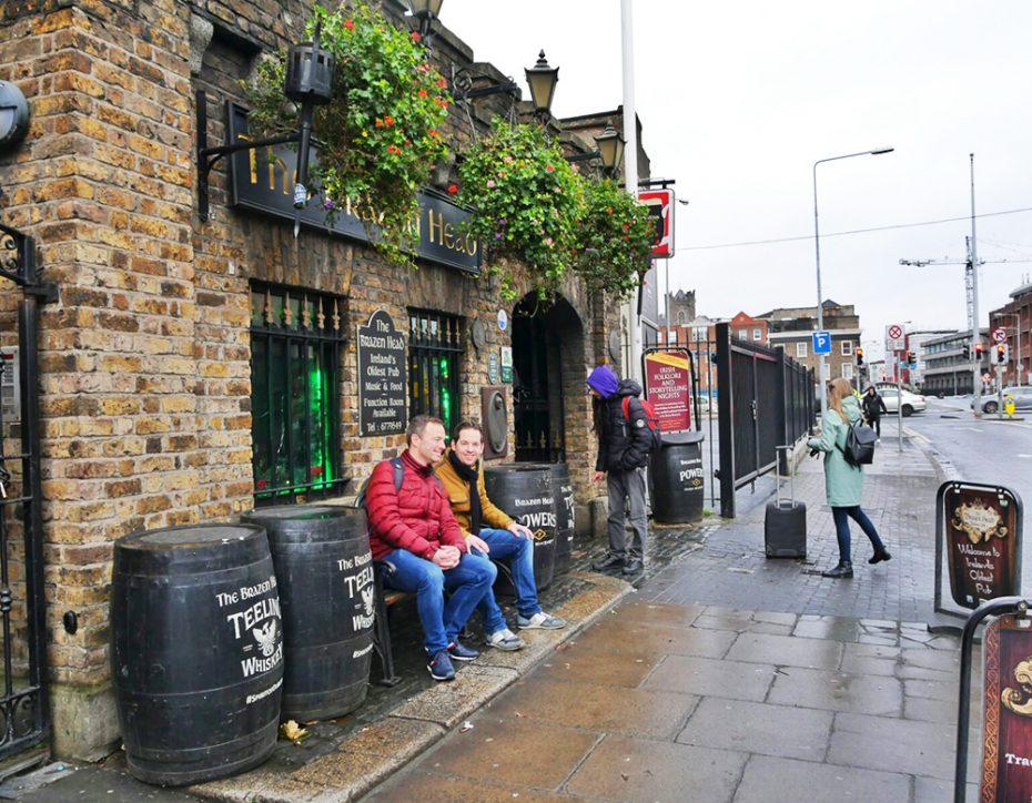 Kerst in Dublin: The Brazen Head - Oudste pub van Ierland