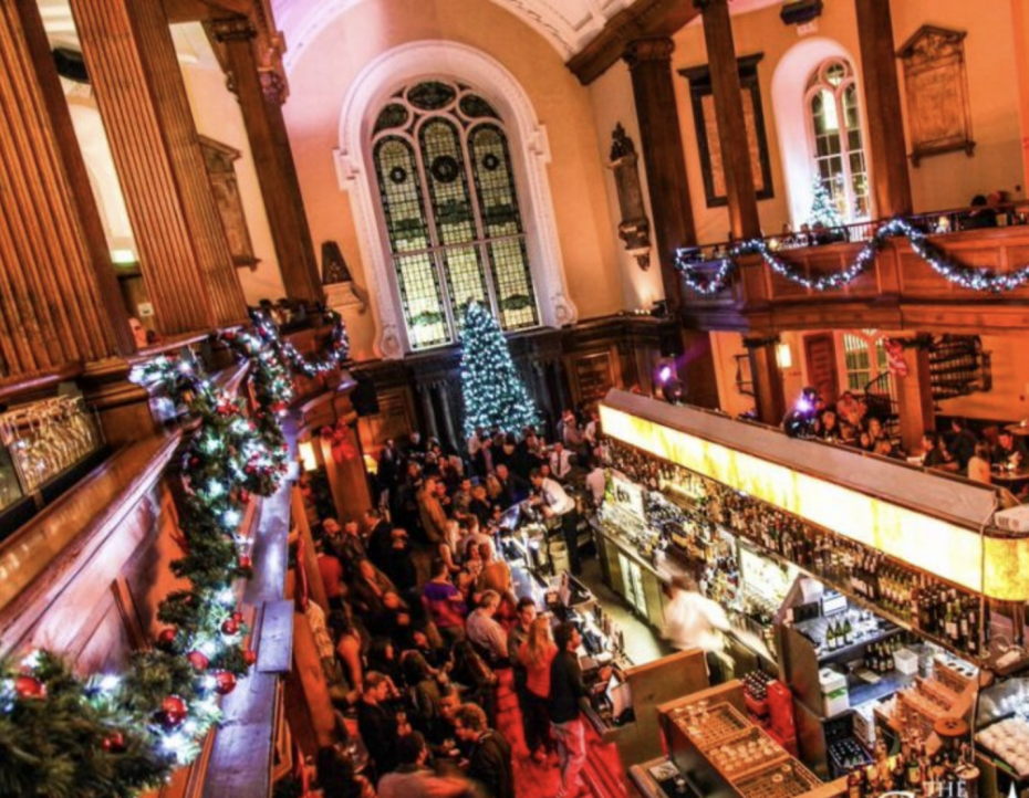 Kerst in Dublin: The Church