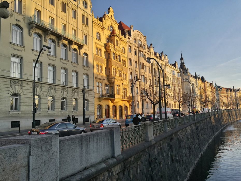 Architectuur in Praag