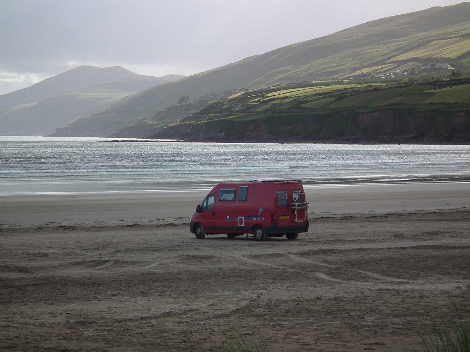 Inch Beach in Ierland
