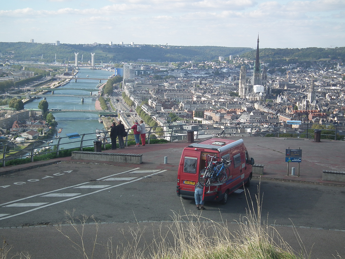 Rouen in Frankrijk