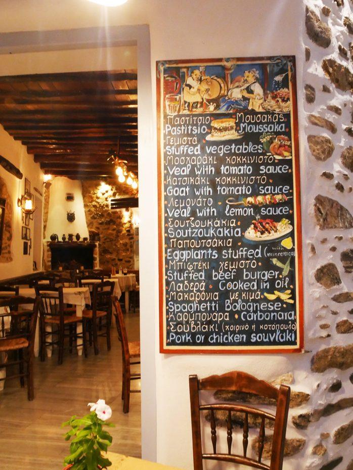 Romantisch dineren in The Old Market in Naxos stad