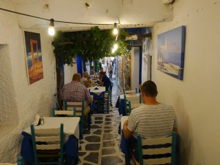 The Old Naxos in Naxos stad